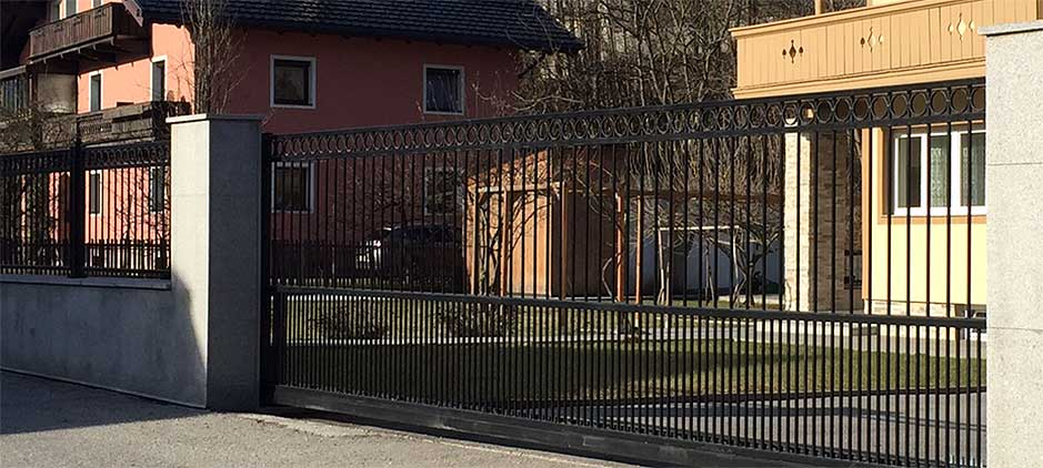 kleine zimmerrenovierung dekor zaun staketen, ein schmiedeeisen staketen zaun mit ring dekor für ihr garten., Innenarchitektur